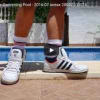 Adidas Top 10 at the Swimming Pool