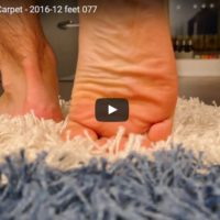 Gay Feet on Fringe Carpet