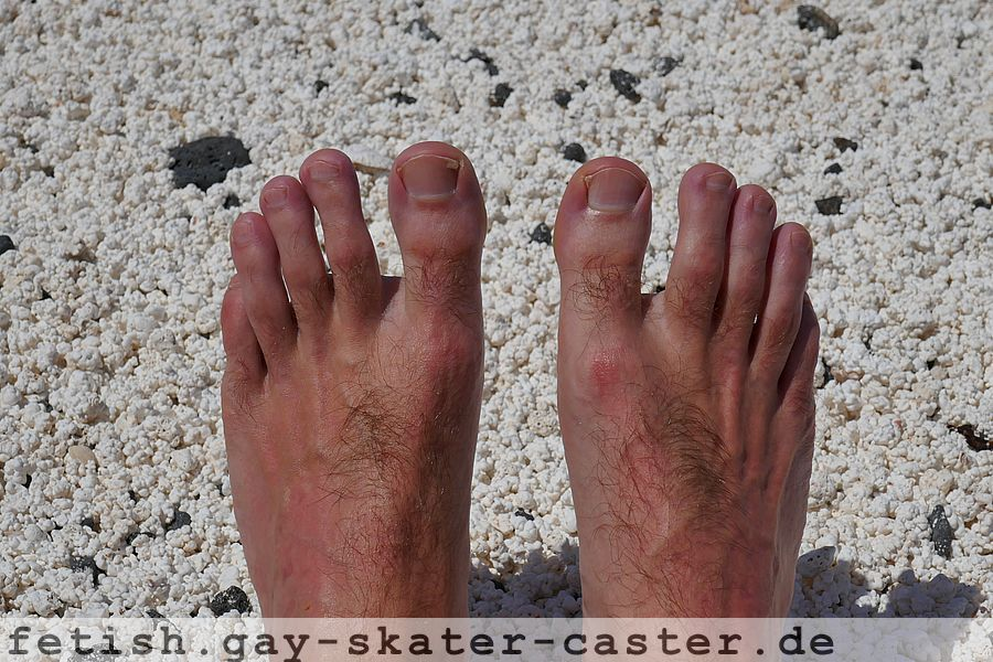 Gay Feet At The Beach  Gay Skater Fetish-6394