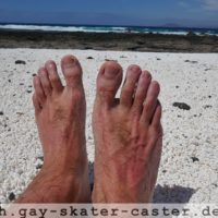 Gay Feet at Popcorn Beach