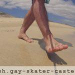 Gay Skater Feet